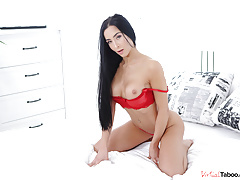 VirtualTaboo.com Sexy girl Anna bating for you in VR