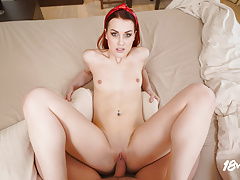 18VR Redhead Teen Charlie Red Wakes You Up For A Wild Sex