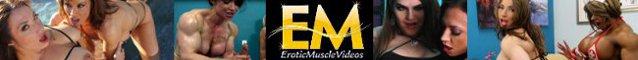 EroticMuscleVideos XXX female bodybuilder videos