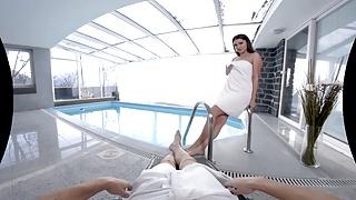TmwVRnet - Ellen Betsy - Nasty Fuck near The Swimming Pool