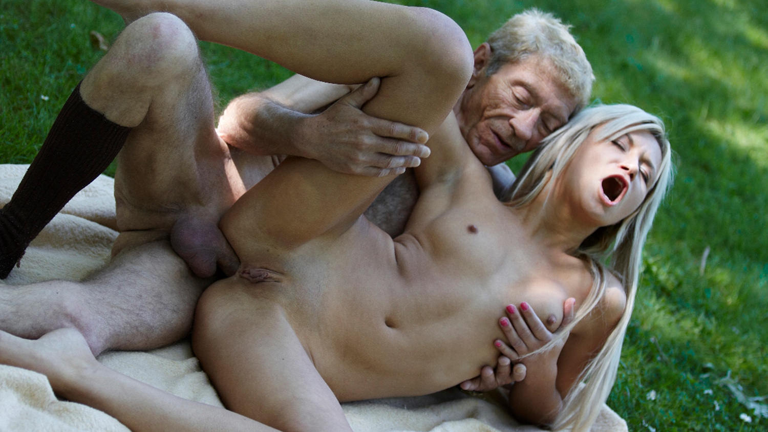 Old Young Porn Teen Gold Digger Anal Sex With Wrinkled Pl-8560