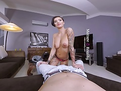 MatureReality -  Sexy Inked Biker Mom Gabrielle