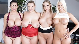 Fivesome with Huge Tits's Thumb