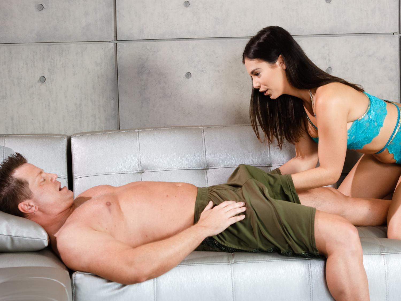 Erection during massage videos