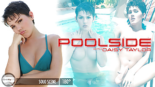 GroobyVR: Daisy Taylor is Poolside