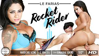 GroobyVR - Le Farias in Rocket Rider
