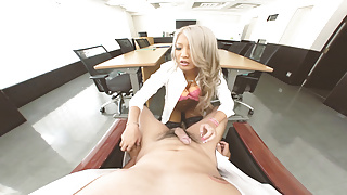The Office Secretary  Drilling Young and Tight Horny Teen VR