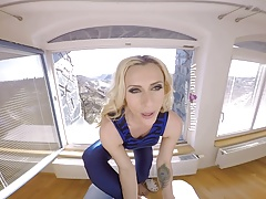 MatureReality - Blonde Milf gets her Pussy trained's Thumb