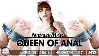 Grooby VR - Natalie Mars in Queen of Anal
