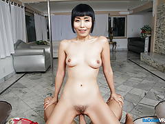 BaDoinkVR.com Japanese Hottie Marica Hase Rides Your Pole