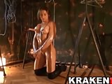 Karyn Byres in an exclusive BDSM scene from Krakenhot