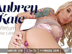 Grooby VR - Aubrey Kate: The Return, One Year Later
