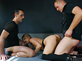 REIFE SWINGER - Dirty swinger threesome with German blonde