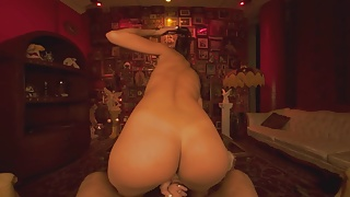 VRBangers Young Gypsy gets her pussy wide open VR