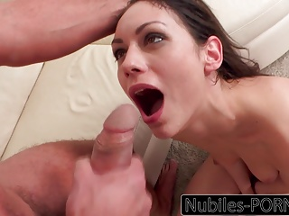 Preview 6 of Nubiles-Porn Russian Babe Squirts On Big Cock