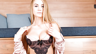 VIRTUAL TABOO - Beautiful Nancy with very hungry pussy