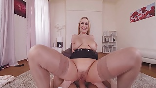 Naughty VR sex therapist Angel Wicky sucks & rides your cock's Thumb