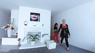 Tube videos latex angel - Latex angel with a slave