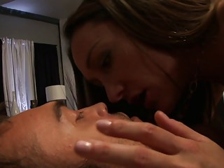 Sexy couple loves sucking each others private parts