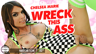 GroobyVR: Chelsea Marie in Wreck This Ass