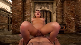 EvilEyeVR - Italian Village with busty girl Blair Williams
