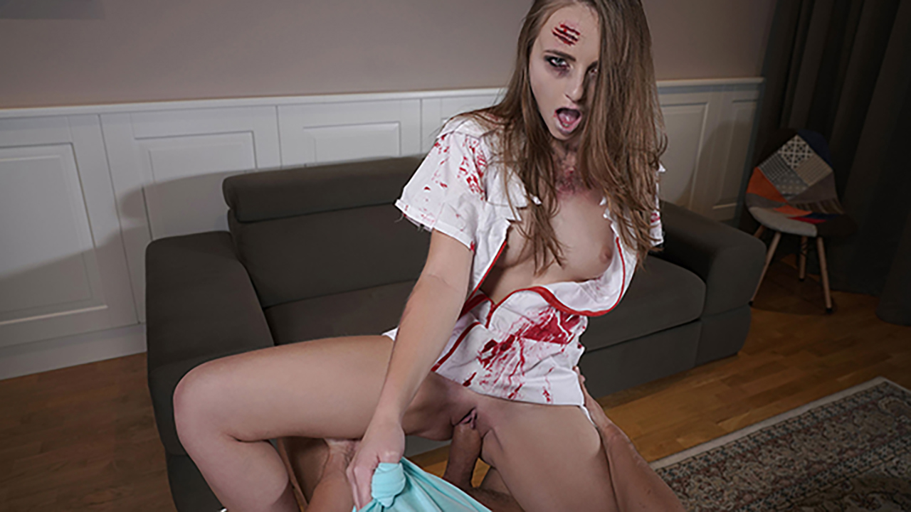 SexBabesVR - 180 VR Porn - Krankenschwester aus der Hölle mit Marienkäfer
