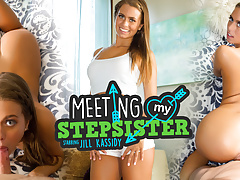 WankzVR - Meeting My Stepsister ft. Jill Kassidy