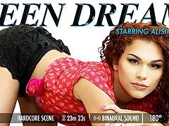 Grooby VR - Teen Dream Alisia Rae
