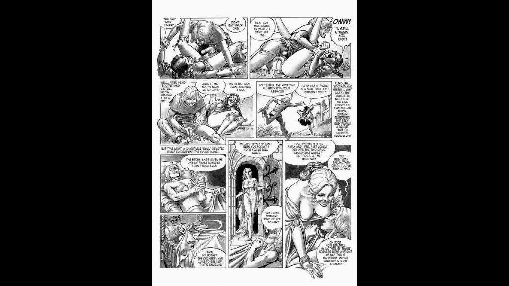 порно 4 хильда комикс