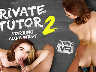 WankzVR - Private Tutor 2 ft. Alina West