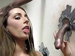 Booty paige turnah sucks big black cock - gloryhole Thumbnail