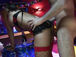 Busty Lezley Zen with her friend Austin Kincaid loves those kinky games with handsome dude