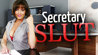 Secretary Slut Annabelle Doll