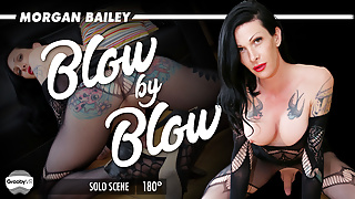 GroobyVR: Morgan Bailey in Blow by Blow