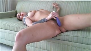 Sexy Brunette Masterbation