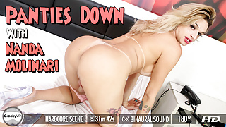 GroobyVR - Panties Down with Nanda Molinari