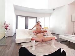 VRBangers.com - Wet Lesbian Practice VR PORN