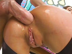 Amazing assfuck and blowjob