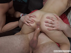 Home Party Turns into Hardcore Swingers Sex