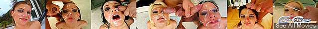 CumForCover: HD bukkak blowbangs and multiple facials