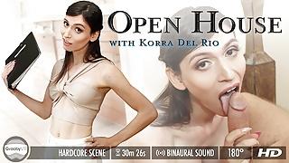 Grooby VR - Korra Del Rio in Open House