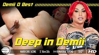 GroobyVR - Deep Inside Demii D Best