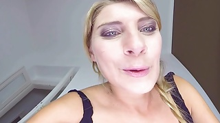 Breast fetishes - Big breasted katarinas face sitting