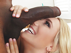 Aj applegate takes a huge black meat anally Thumbnail