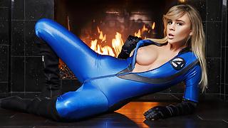 VR CosplayX Fantastic Four POV FUCK Susan Storm wit BIG TITS