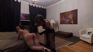 The hot house maid and her master's pussy - VR porn