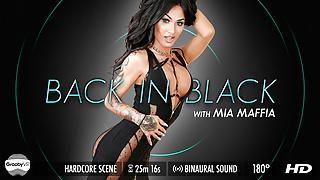 Grooby VR - Mia Maffia 'Back in Black'