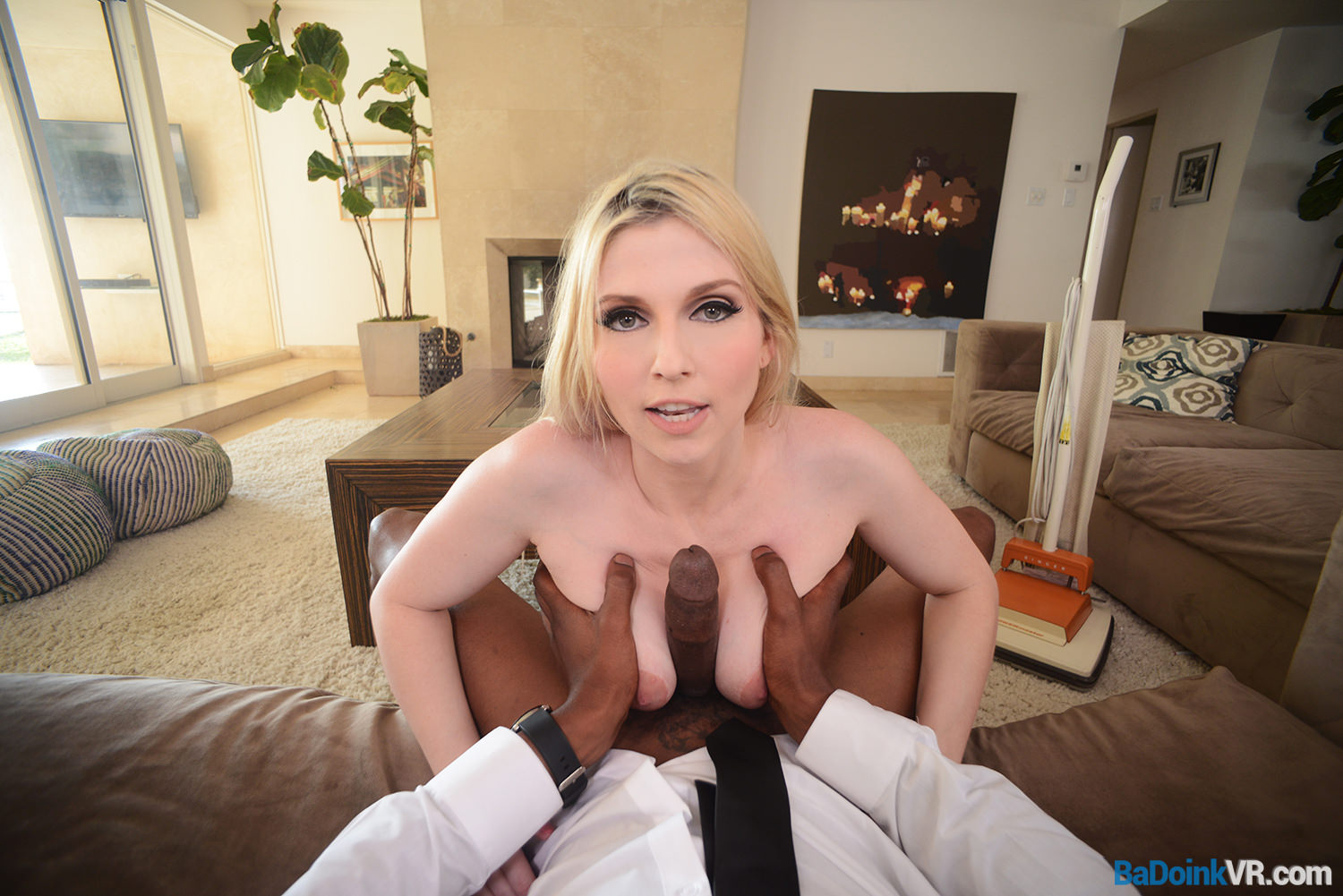 Badoink vr your bbc for horny housewife christie stevens vr 10