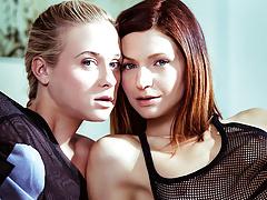 Arian and Cristal Caitlin Having Lesbian Sex