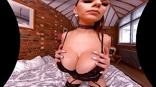 Absolutely hot POV ass masturbation of VR Queen Krystal Webb